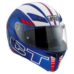 Casco AGV Compact Seattle blue/white/red