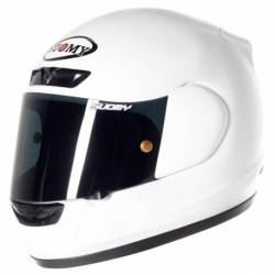 Casco Suomy Apex Plain white