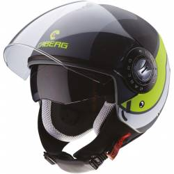 Casco Caberg Riviera V3 Sway Matt antracite/black/yellow fluor