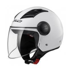 Casco LS2 OF562 Airflow Gloss White Long