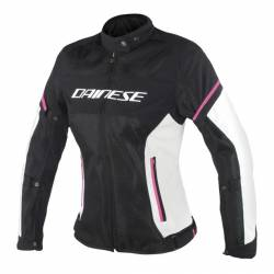 Dainese Air Frame Lady Negro/blanco/fucsia