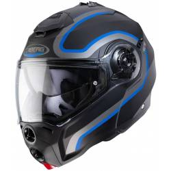 Caberg Droid pure matt black/antracite/blue