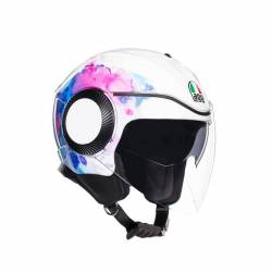 AGV Orbyt Mayfair blanco/morado
