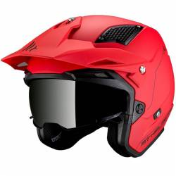 CASCO DISTRICT SV SOLID A5 ROJO MATE